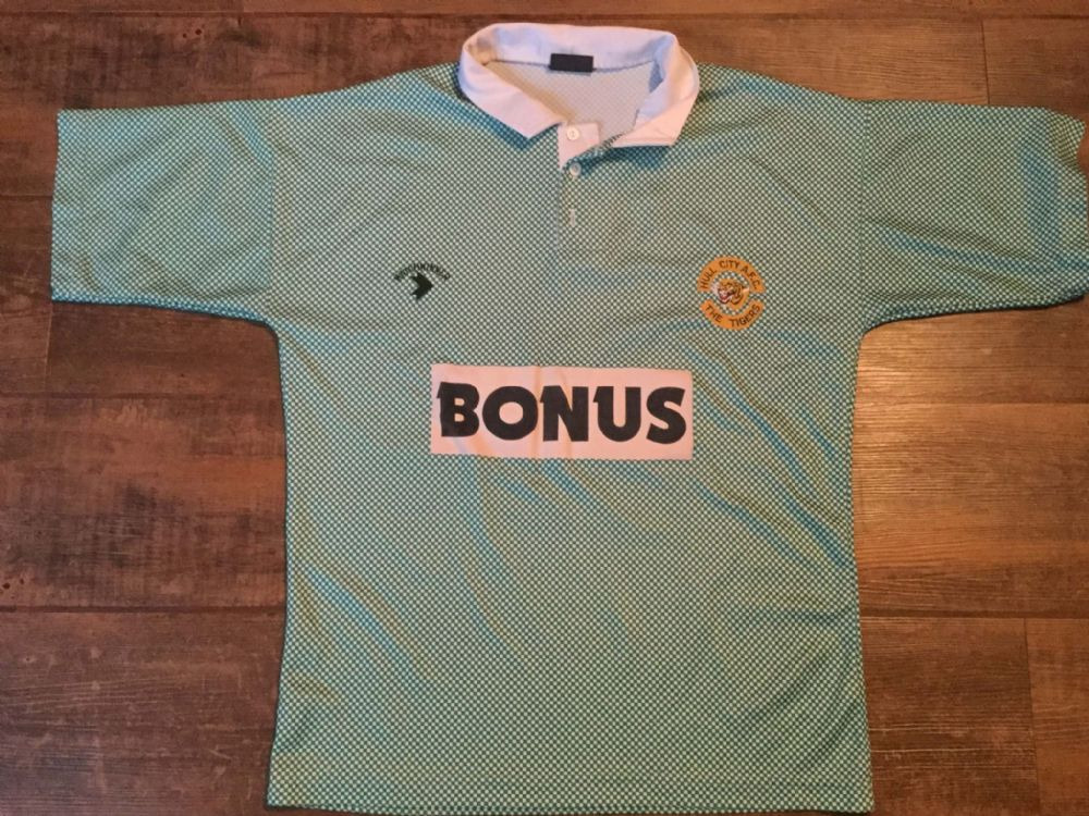 Global Classic Football Shirts | 1990 Hull City Vintage Old jerseys